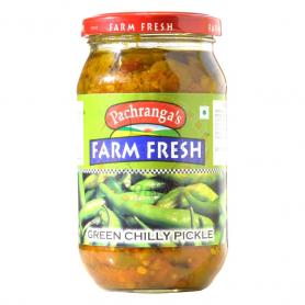 F/F Green Chilli Pickle 400G