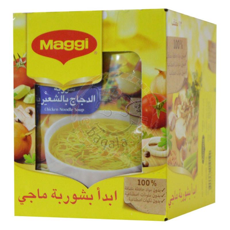 Maggi Chicken Noodles Soup 60G X 12P