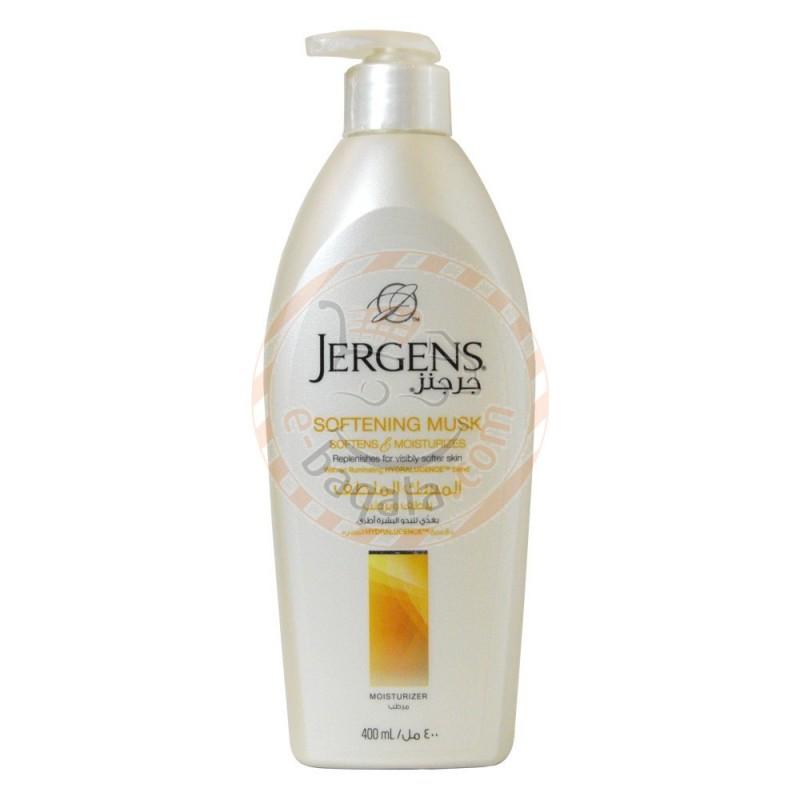 jergens softening musk moisturizer 400ml