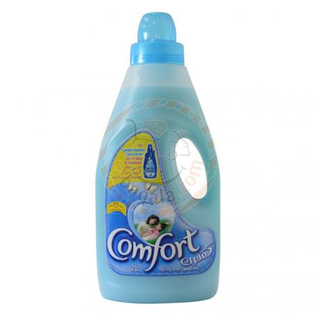 Comfort Sprng Dw Blu Fabric Softner 2L