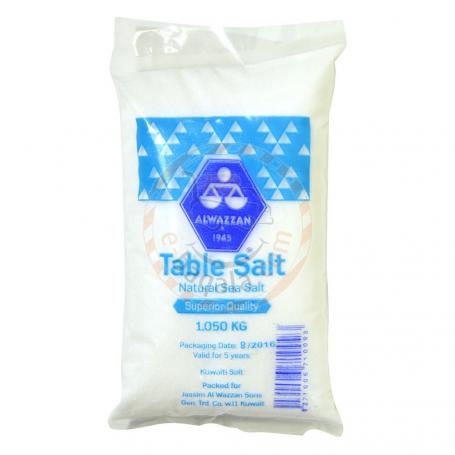Alwazzan Edible Salt 1.050Kg