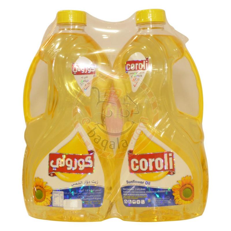 Coroli Sunflower Oil Bottle [2P] 1.8L