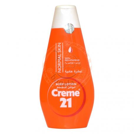 Cream 21 Nrml Skin Body Lotion 400Ml