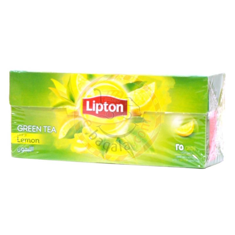 Lipton Foil Green Lemon Tea Bag 25B
