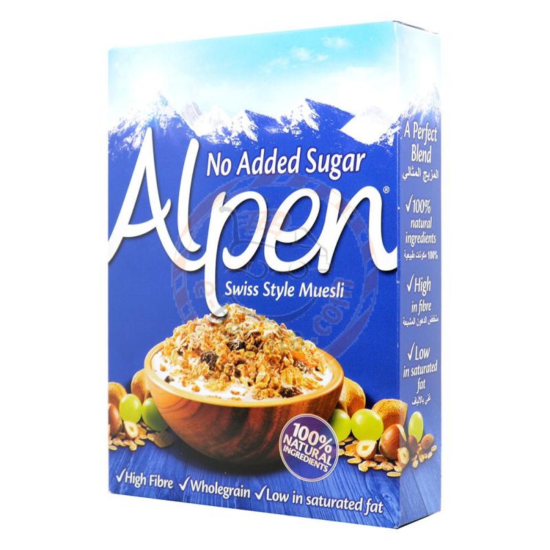 Alpen Swiss Style Muesli Cereal 560G