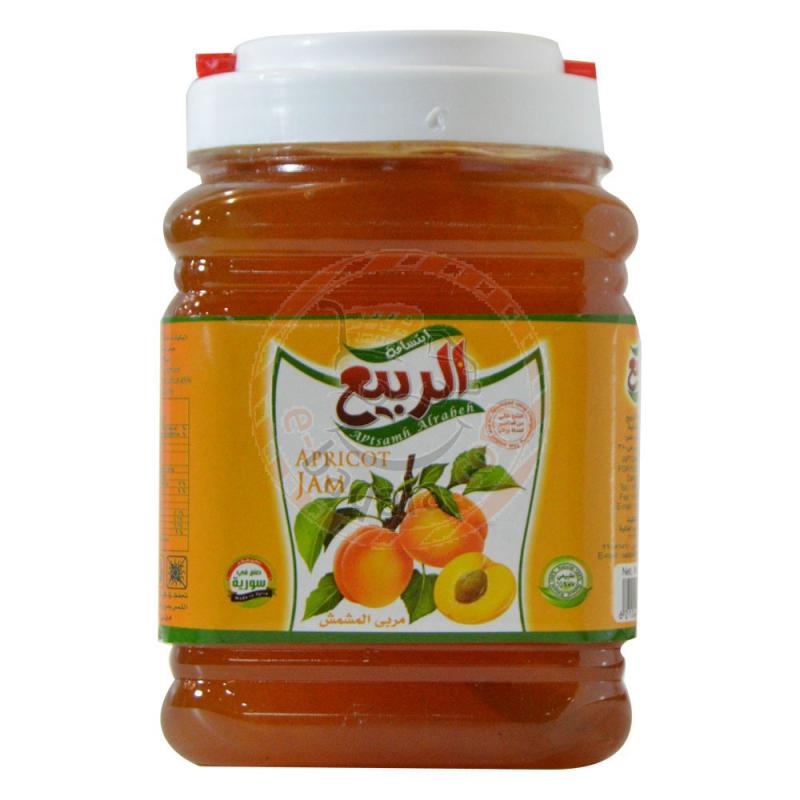 Ibtesamah Al-Rabea Apricot Jam 2Kg