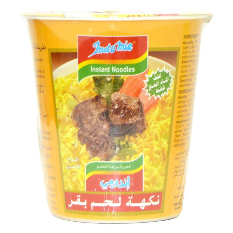 Indomie Beef Cup Noodles 60G