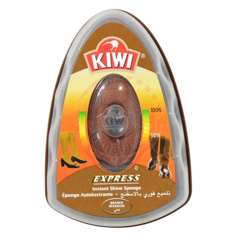 Kiwi Brown Shoe Sponge 7Ml