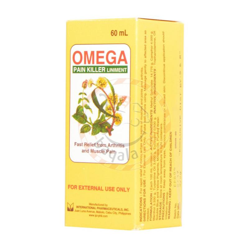 Omega Pain Killer Liniment 60Ml