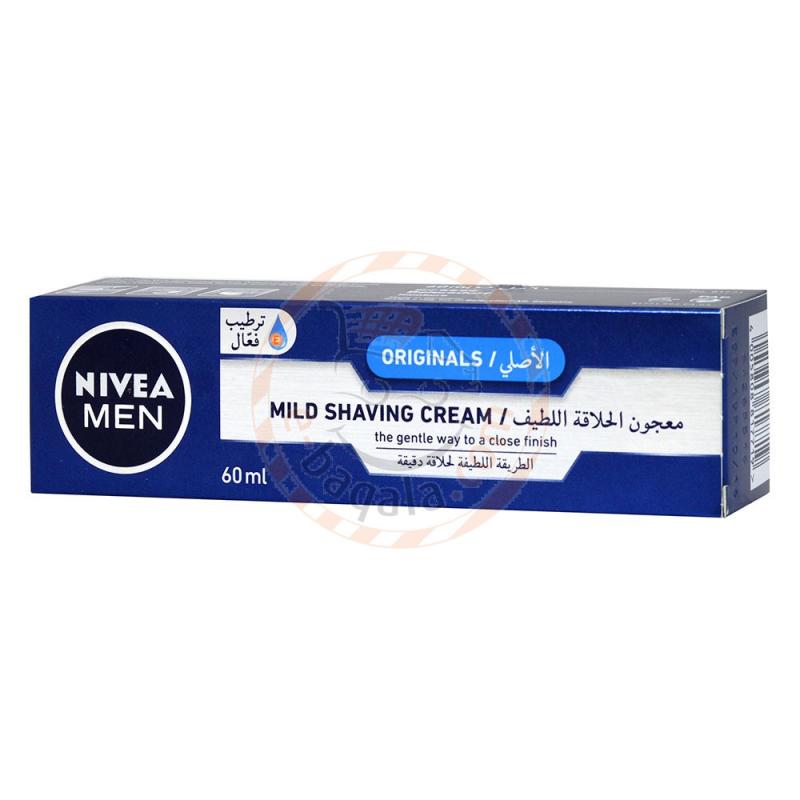 Nivea Mild Shaving Cream 60Ml