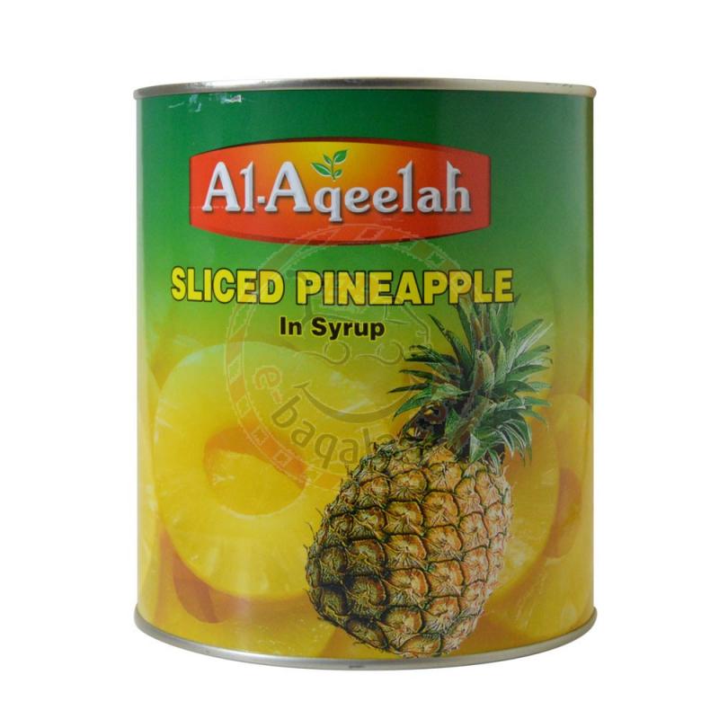 Al-Aqeelah Pineapple Sliced 3.050G