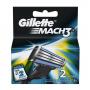Gillette 2Pcs Mach 3 Blade 1Pcs