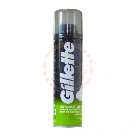 Gillette Lemon Shaving Foam 200Ml