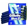 Gillette 5Pcs Blu2 Razor 1Pcs