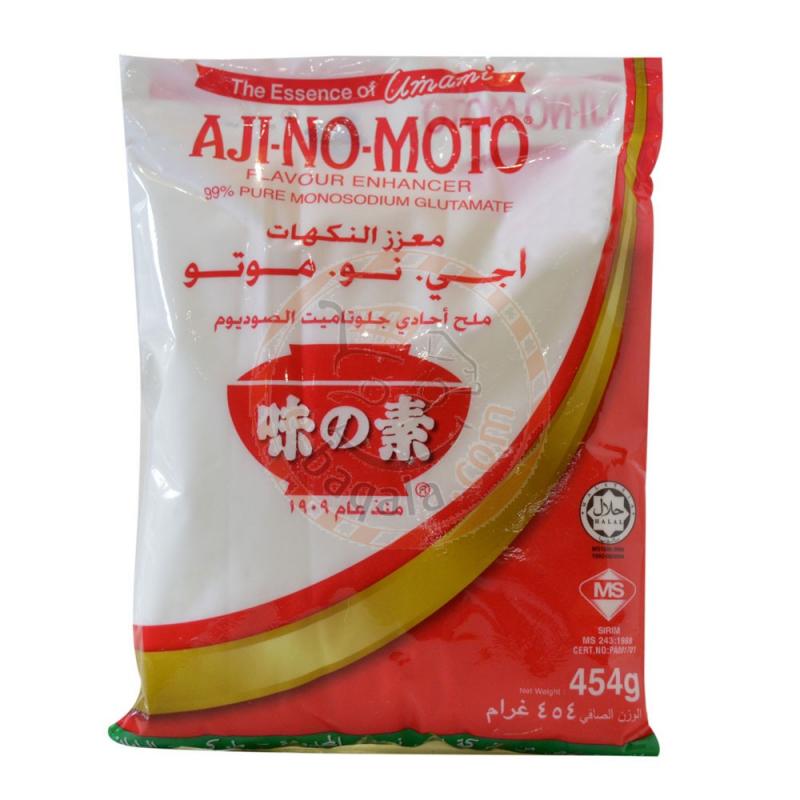 Ajinomoto Mono Sodium Glutomate 454G